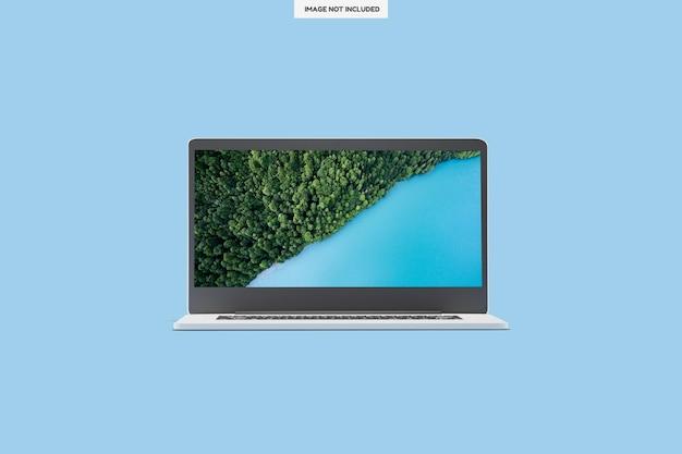 Conception d'ordinateur portable moderne et réaliste