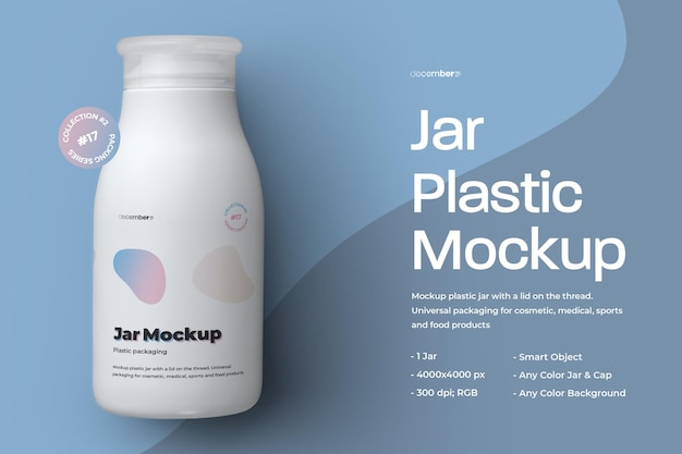 Conception de pot en plastique de maquette