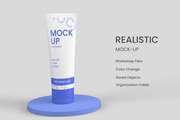 Conception de produits cosmétiques hydratants de soins de la peau isolée
