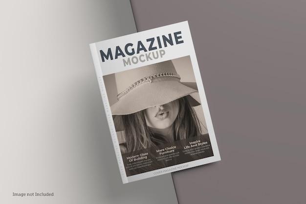Conception de rendu de maquette de magazine de couverture