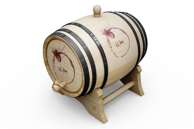 Conception de tonneau de vin
