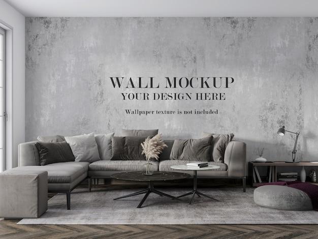 Concevez le mur de votre salon avec des accessoires