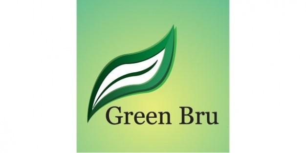 Congé vert logo modèle