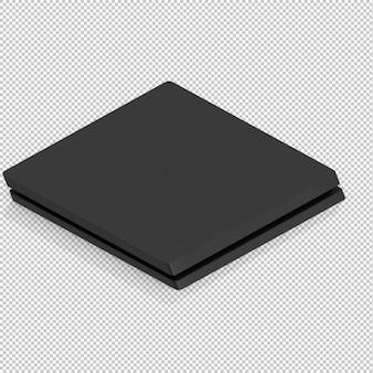 Console de jeux isométrique