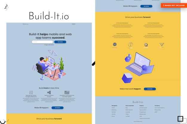 Construire la conception de pages web