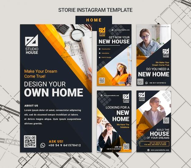 Construire vos propres histoires de médias sociaux à la maison