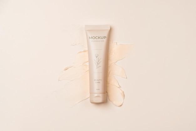 Conteneur de produit cosmétique avec splash