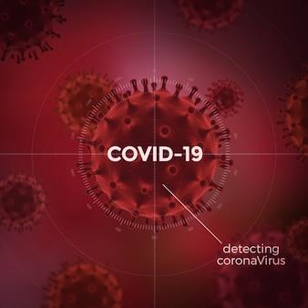 Contexte de covid-19. concept de coronavirus. prévention des maladies infectieuses.