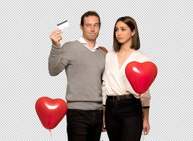 Couple, saint valentin, écoute, musique, téléphone