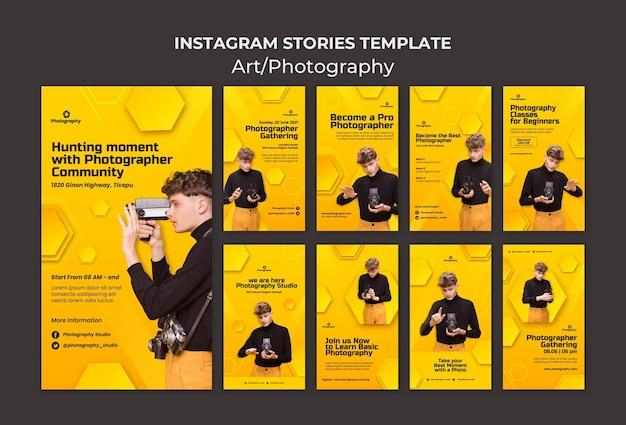 Cours de photographie histoires instagram