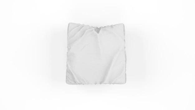 Coussin gris isolé