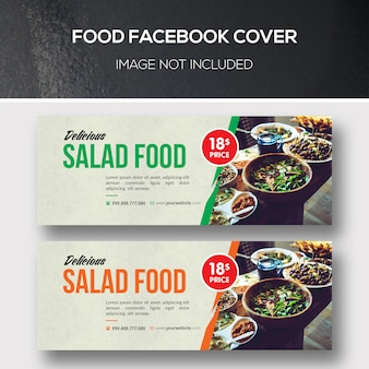 Couverture facebook alimentaire