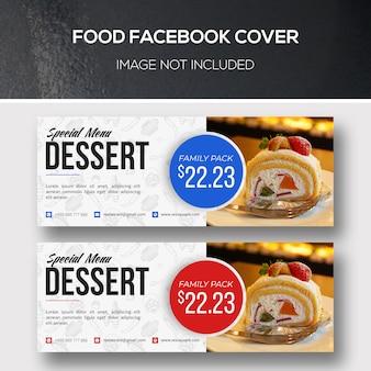 Couverture facebook alimentaire