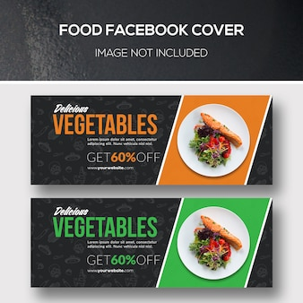 Couverture facebook de l'alimentation