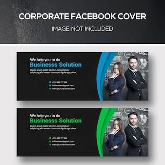 Couverture facebook d'entreprise