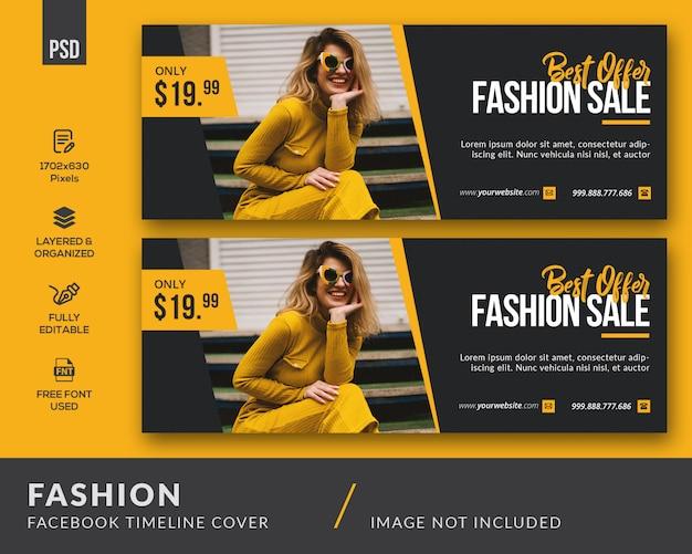 Couverture facebook fashion