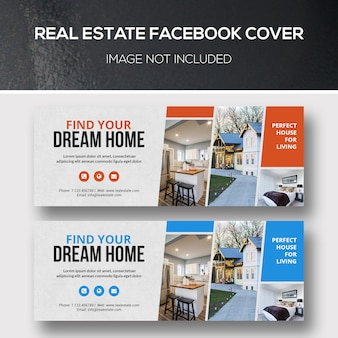 Couverture facebook immobilier