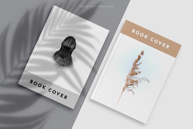 Couverture vierge de magazine, livre, livret, brochure
