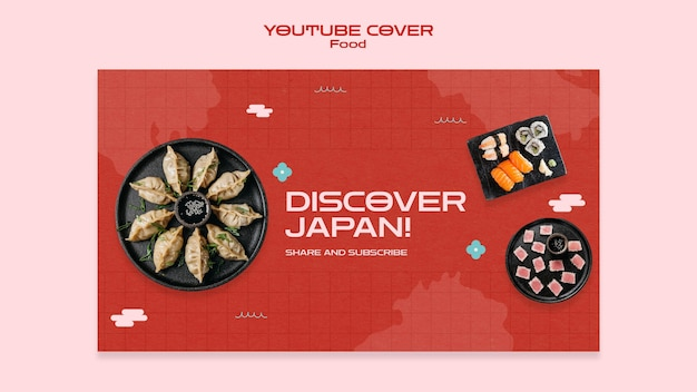Couverture youtube de la cuisine japonaise