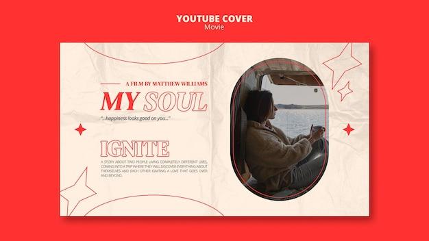 Couverture youtube divertissante du film