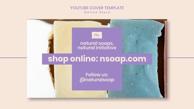 Couverture youtube du magasin de savon fait main