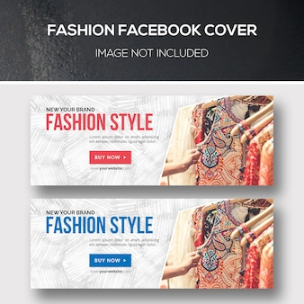 Couvertures facebook mode