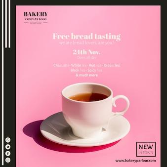 Création de modèles web pour le secteur du thé