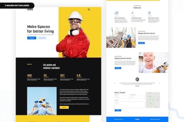 Créer des espaces pour une meilleure page du site web