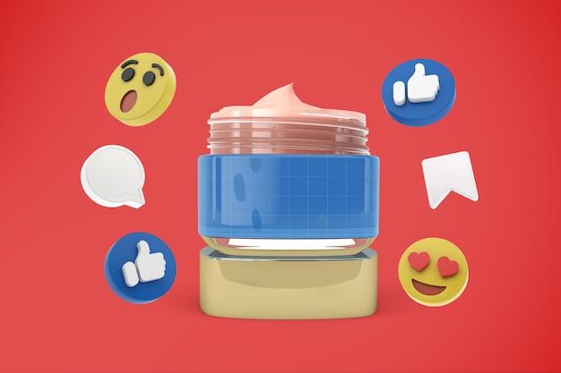 Crème médias sociaux