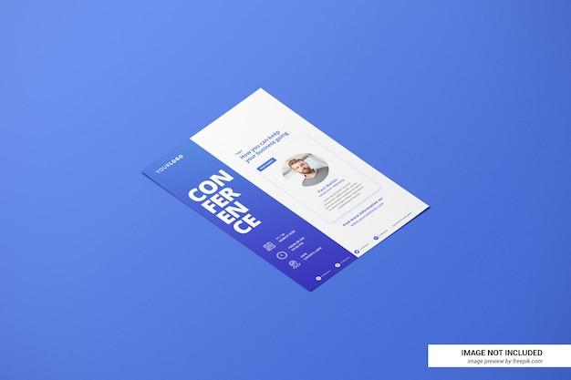 Cv créatif ou maquette de flyer