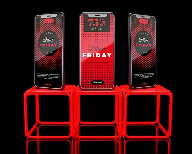Cyber publicité le vendredi noir