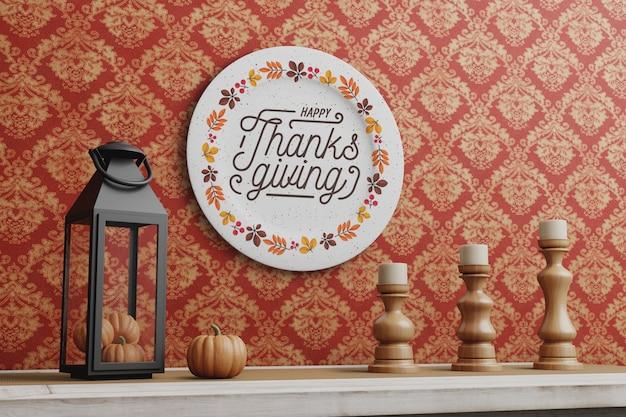 Décoraions le jour de thanksgiving