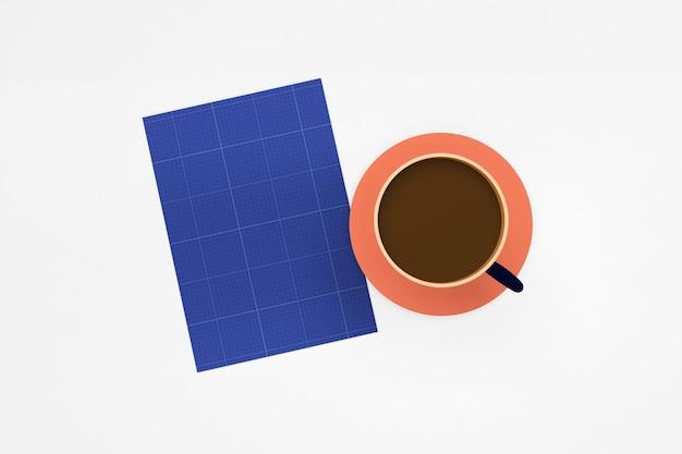 Dépliant café