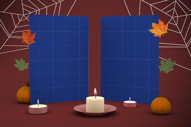Dépliant halloween