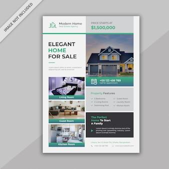 Dépliant immobilier d'entreprise