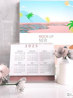 Dernière maquette de calendrier