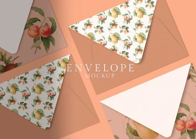 Design enveloppe florale