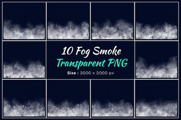 Différentes formes de collection de fumée de brouillard