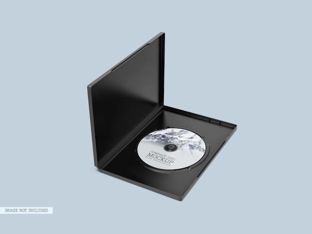 Disque compact avec maquette de couverture