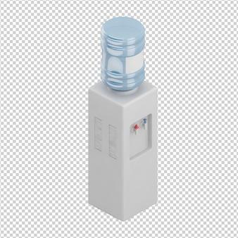 Distributeur d'eau isométrique
