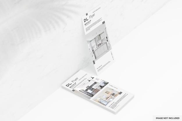 Dl flyer designs de maquette de cuisine