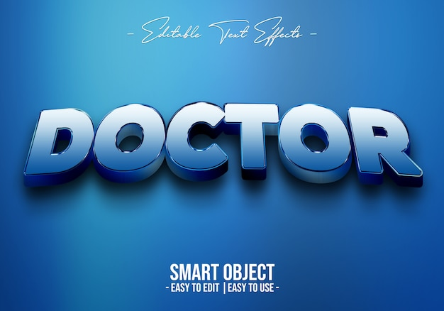 Doctor-text-style-effect