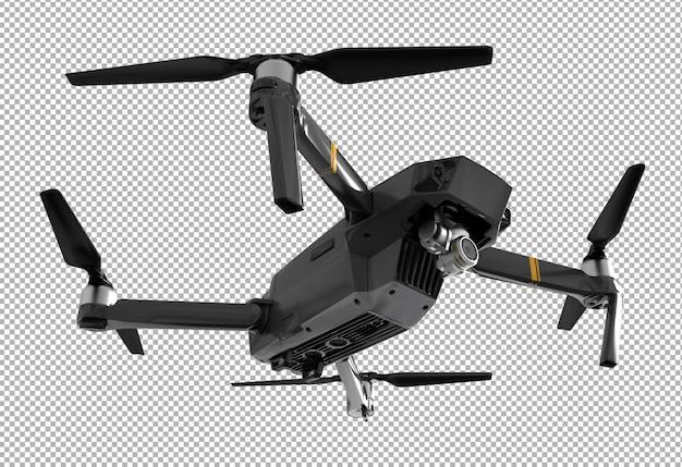 Drone 3d isolé rendu.