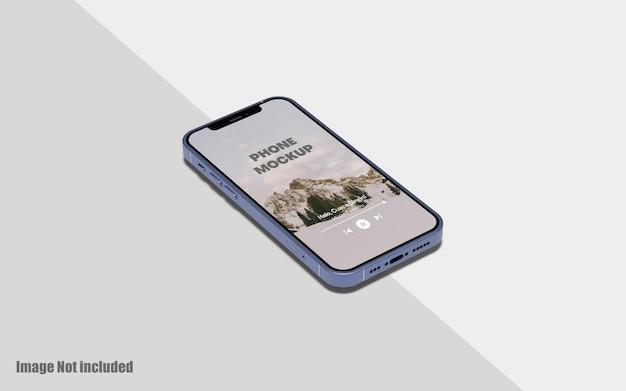 Écran de téléphone maquette premium psd