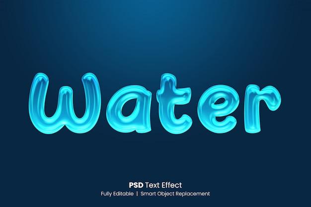 Effet de gel de texte