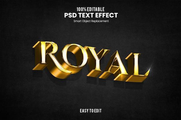 Effet royaltext