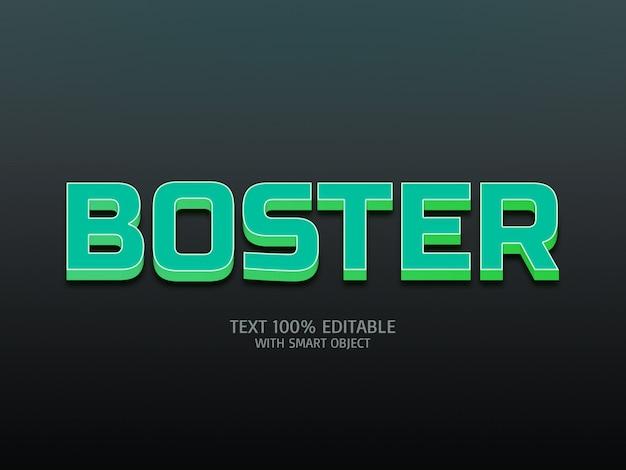 Effet de style de texte 3d maquette psd premium