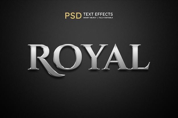 Effet de style de texte royal