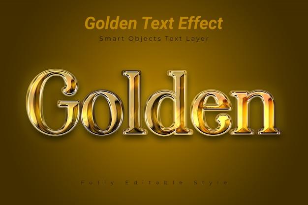 Effet texte doré