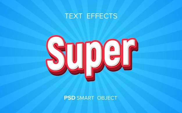 Effet de texte en gras créatif